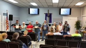 Fourth Biker Church New Members